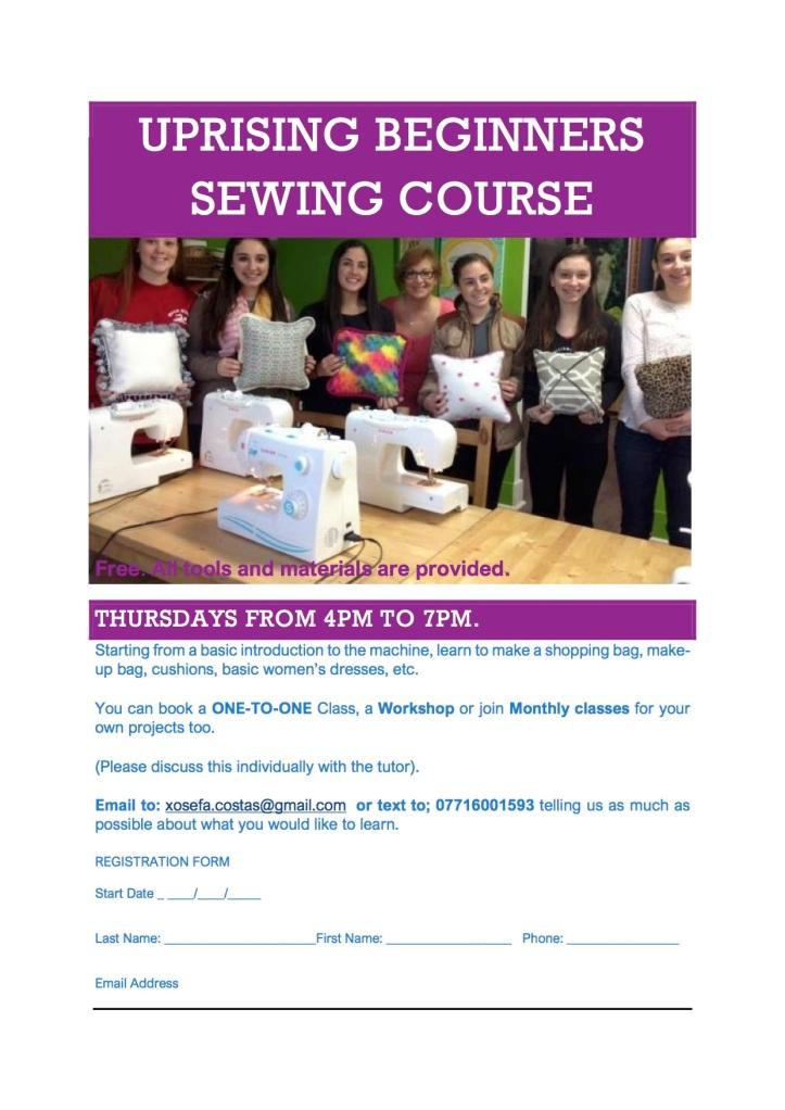 Sewing Class Uprising
